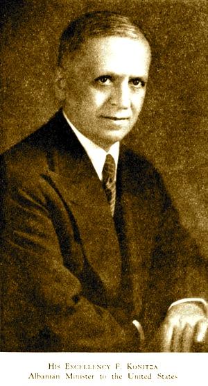 Faik Konica - Ambasador ne Shtete e Bashkuara