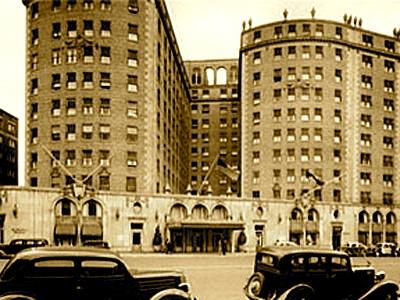 Hoteli Mayflower Washngton - 1940