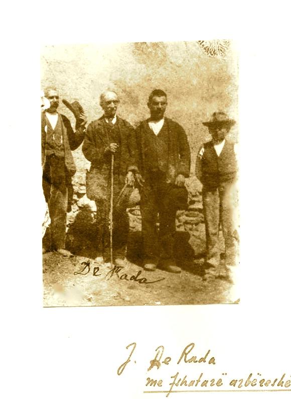 Jeronim De Rada mes fshatarësh Arbëreshë