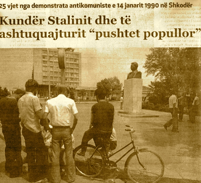 Shkoder - 14 Janar 1990