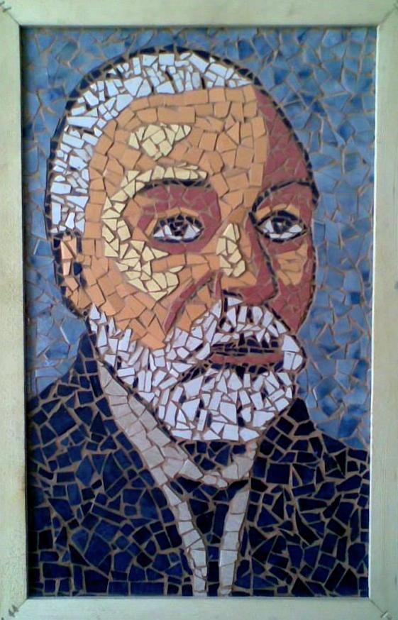 Harilla Ibrahimi - Ismail Qemali (mozaik)