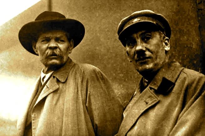 Maksim Gorkij & Genrich Jagoda1935