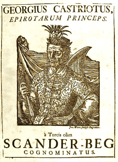 Barletius Historia e jetes se Scanderbegut (1743)