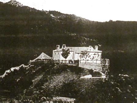 Kulla e Markagjonëve në Mirditë e rrafshuar në vitin 1945 nga komunistët