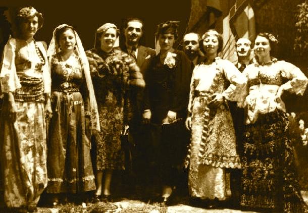Jorgjia Filce-Truja, Lola Gjoka, Tefta Tashko, Marie Kraja.