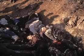 Pamje e masakres se Raçakut