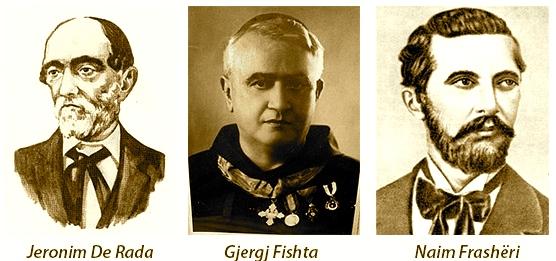 De Rada - Fishta - Frasheri