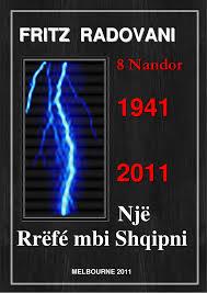 Fritz Radovani - Nji Rrefe mbi Shqipni