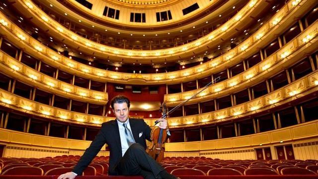 Violinist gjakovar Shkëlzen Doli në Vjenë