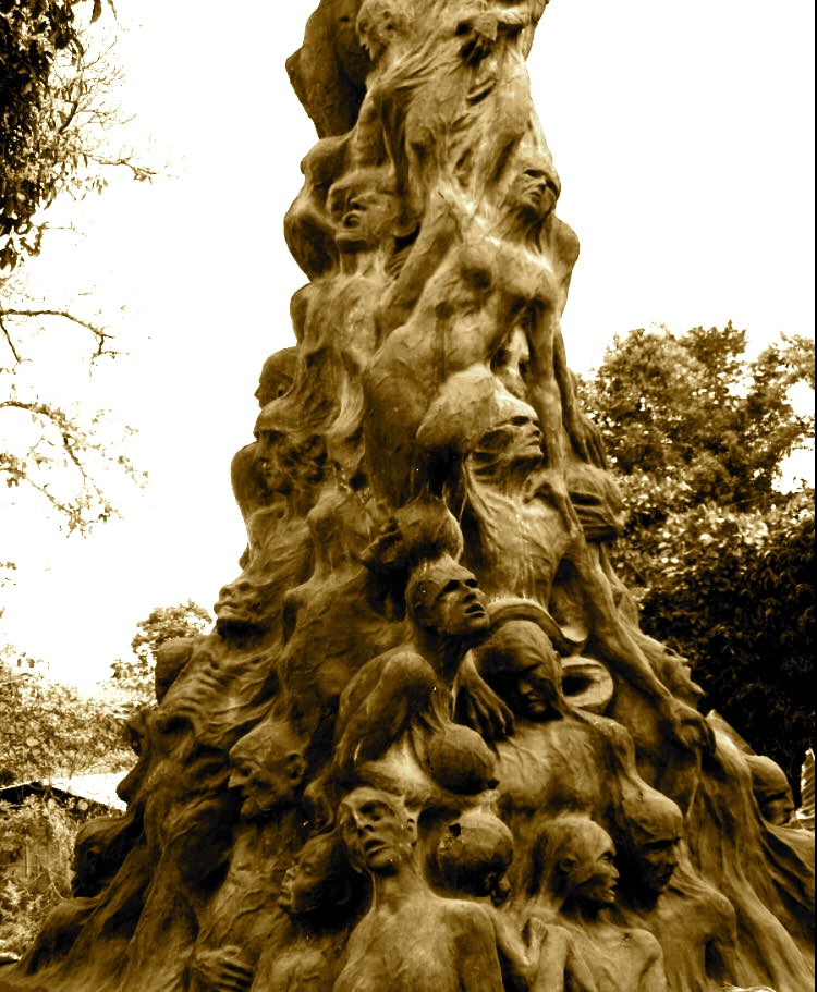 Monument kushtuar indianëve të masakruar Caracole, Chiapas, Mexico