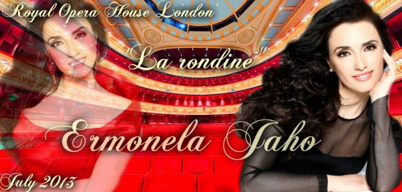 Ermonela Jaho në Royal Opera - Londër 2013