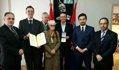 Dekorimi i Prof. Dr. Aleksandar Stipçeviq në Zagreb