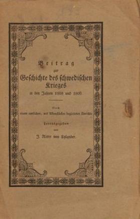 Veper e J. Rixter von Xylander
