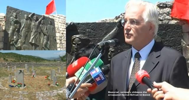 Ambasadori gjerman Hofman në Borovë
