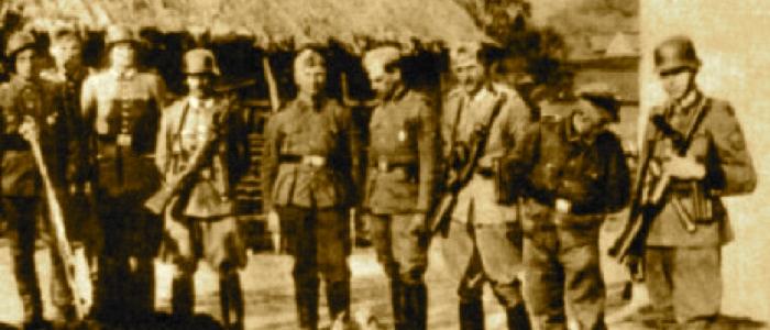 Ushtarë gjermanë në shkurt 1944