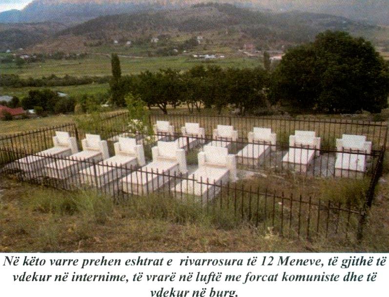 Varret e Menëve në Lurë