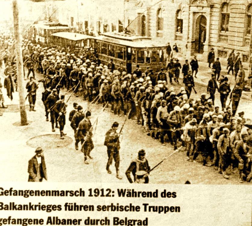 Genocidi kundra  Shqiptareve mars 1912