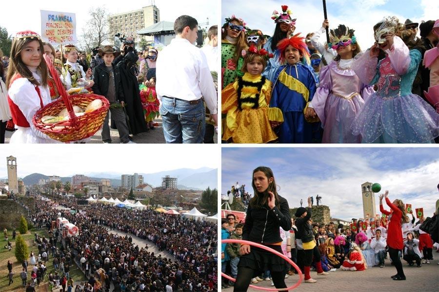 Kartolina e Elbasanit - Dita e Veres 14 Marsi