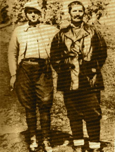 Enver Hoxha & Miladin Popoviç