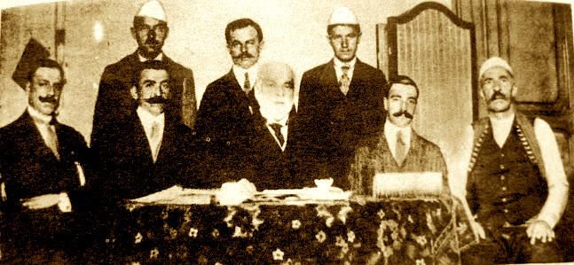 Qeveria e  Vlorës Delegacioni në Romë 1913