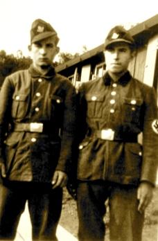 Gunter Grassi gjatë Luftës së II Botërore