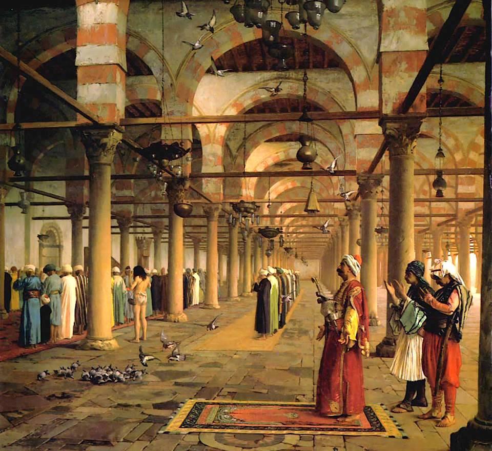"""""""Falja e namazit në xhaminë Amr"""""""