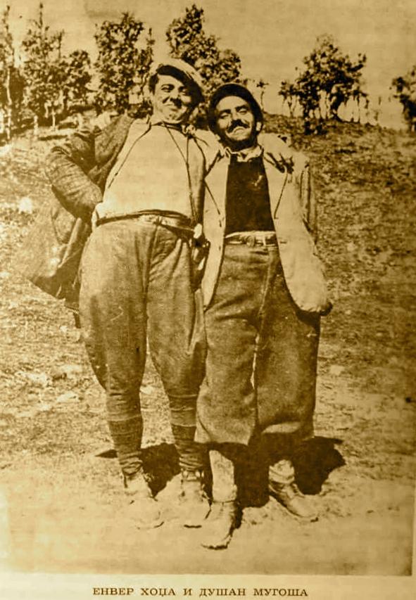 Hoxha dhe Mugosha