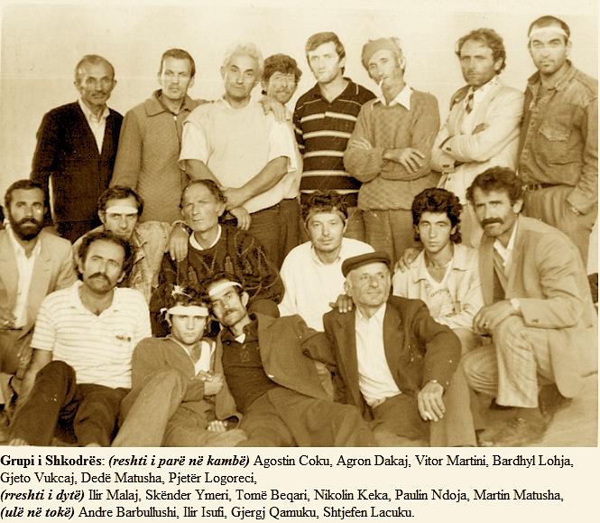 Grupi Shkodrës (Greva e Urisë 1991)