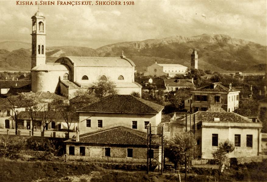 Kisha Françeskane Shkoder - 1938