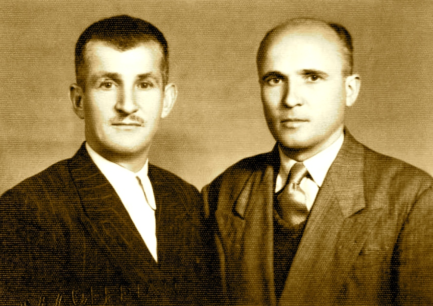 Hamit Matjani dhe Miftar Spahija