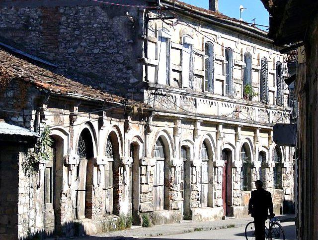 Rrugë në Shkodër...
