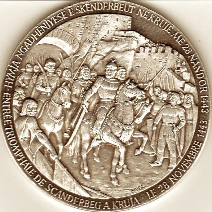 Medalja e Skënderbeut - e përgatitur nga Isa Ndreu (pjesa pas)
