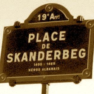 Place de Scanderbeg (1405-1468) - Paris 1980
