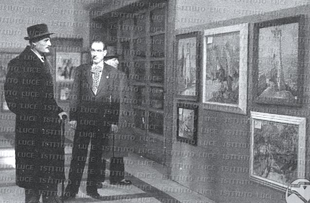 Kol Bib Mirakaj ne nji Galeri Arti (instit. Luce)