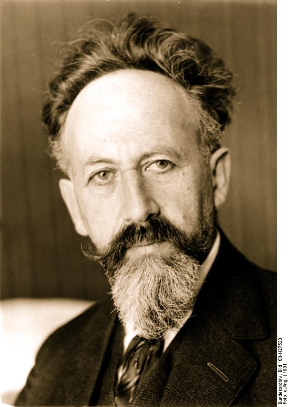 Prof. Gustav Mayer (1871-1948)