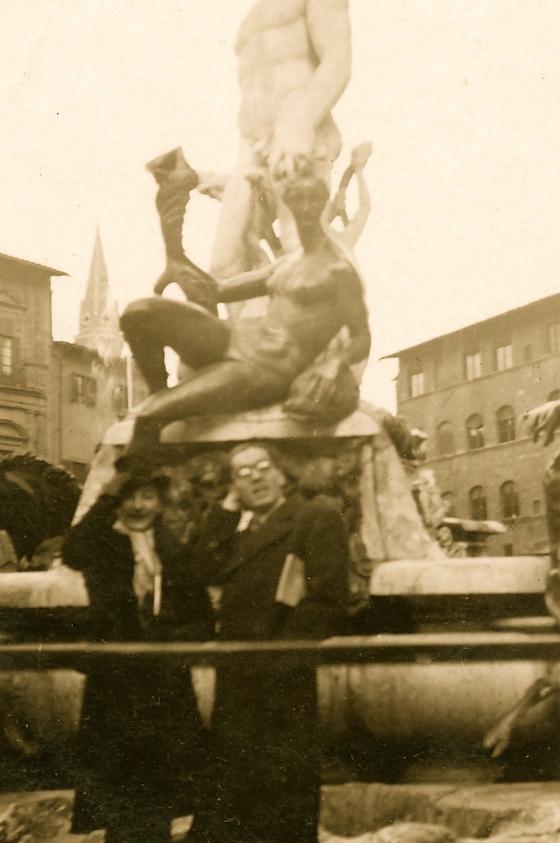 Gasper Pali e Italia Koka - Firence 1940