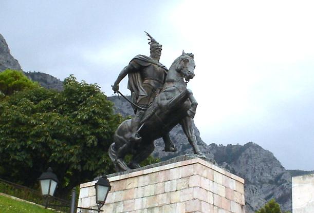 Gjergj Kastrioti - Skënderbeu (Krujë)