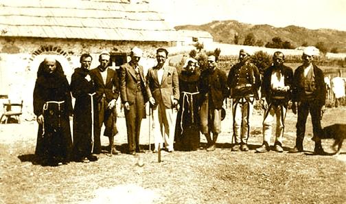 Ernest Koliqi dhe Kol Bib Mirakaj 1930