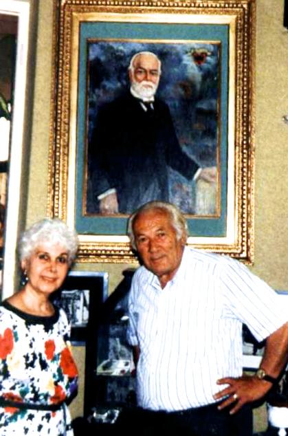 Nermin Vlora & Lazer Radi - Rome 1991 (arkivi Radi)