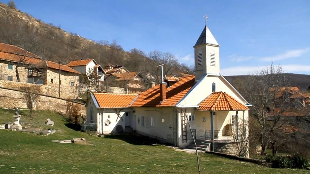 Kisha e Shen Gjergjit Stubell - Shkolla e pare shqipe