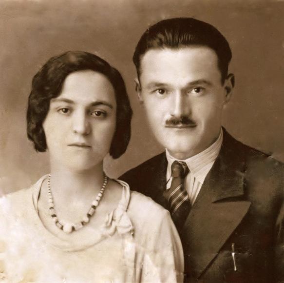 Kol Bib Mirakaj dhe e shoqja Xhina