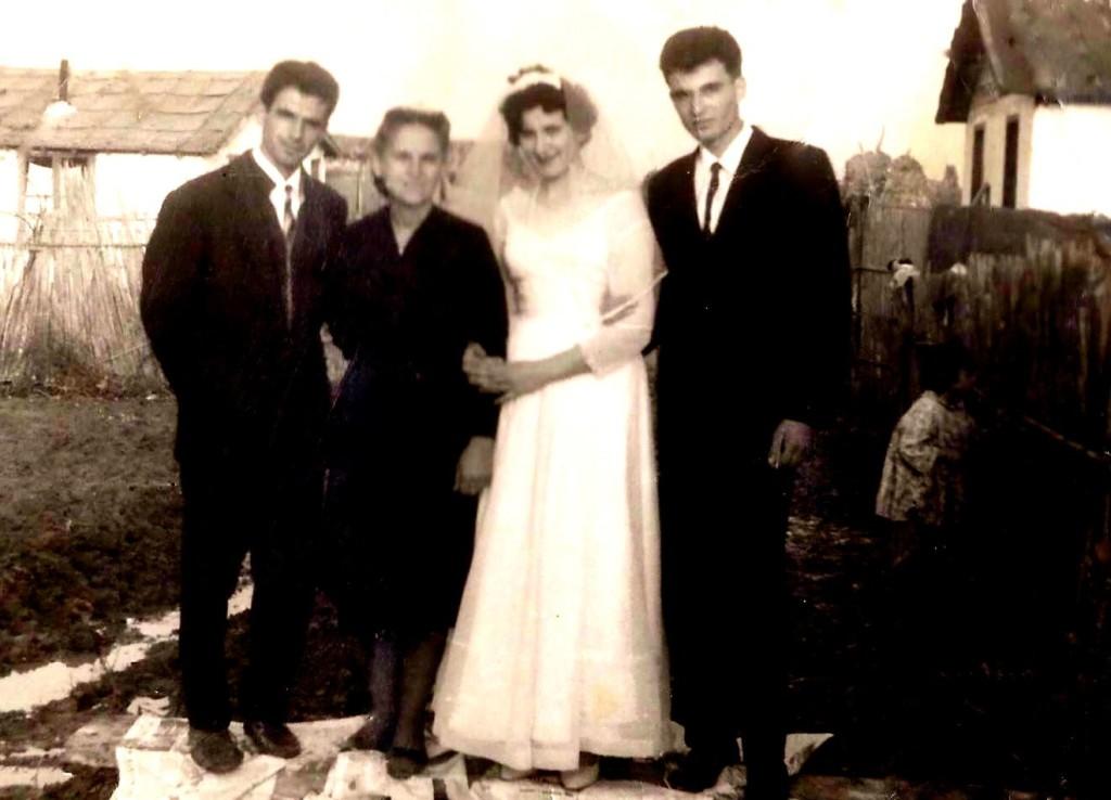 Familja e Kol Bib Mirakes internim Gradishte 1964