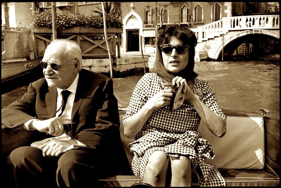 Giuseppe Ungaretti dhe Anna Magnani - Venezia
