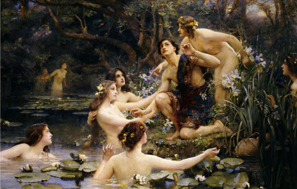 Henrietta Rae - Nymfat e Ujit 1909