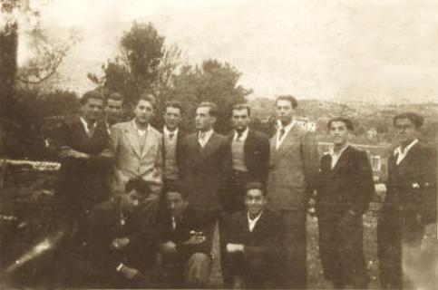 Gjimnazista të Shkodrës në Shirokë...  9 shtator 1935