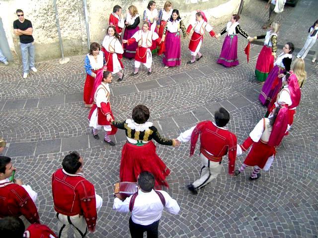 Valle të etnisë arbëreshe në Itali