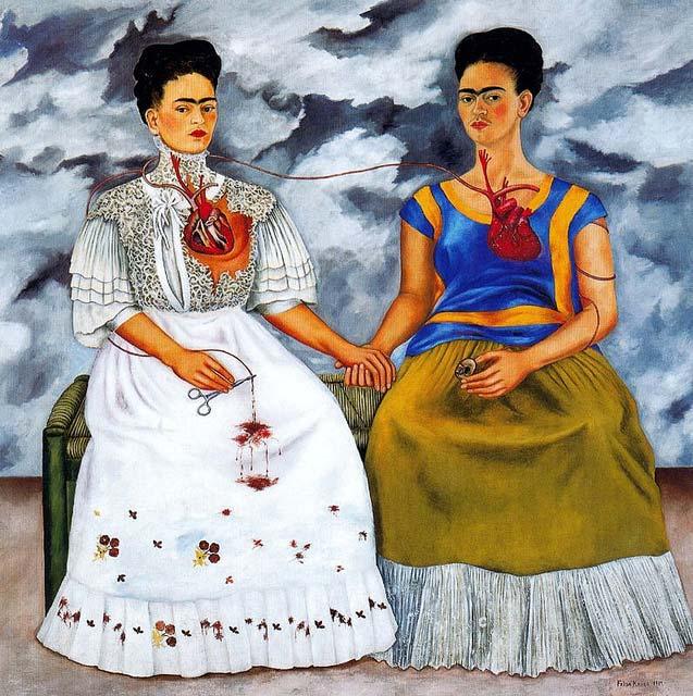 Frida Kahlo - Dy Fridat 1939