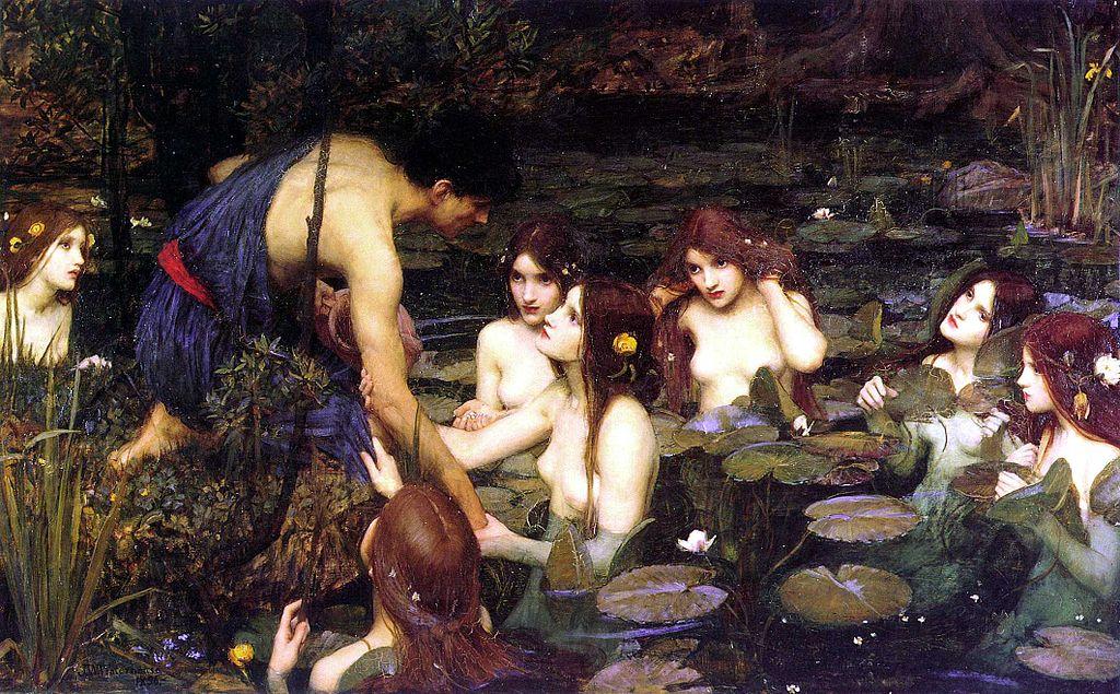 John William Waterhouse - Nymphs 1896