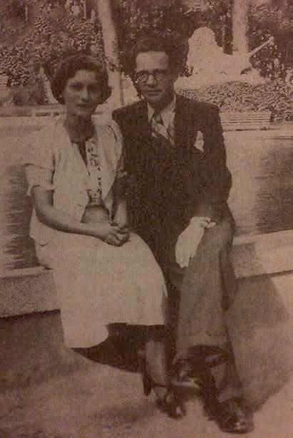 Tironsja Nevrez Këlliçi me bashkshortin e pushkatuar, dibranin Akil Sakiqi më 1937.