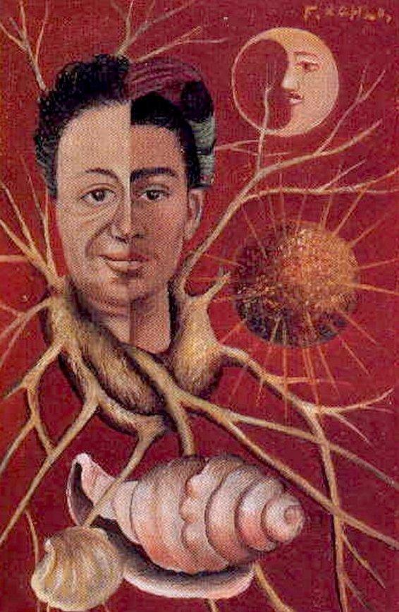 Diego Rivera & Frida Kalho - 1944